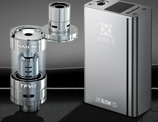 Smok TFV4 with X Cube 2