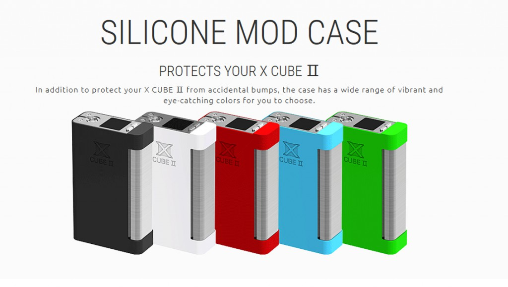 x cube silicone cases