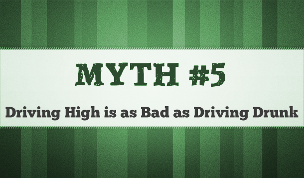 driving high vs driving drunk