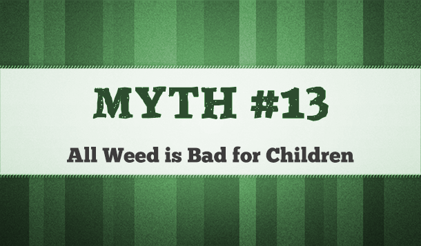 marijuana is bad for kids