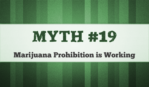 marijuana prohibition works