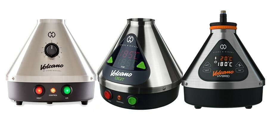 All 3 Volcano Vaporizer